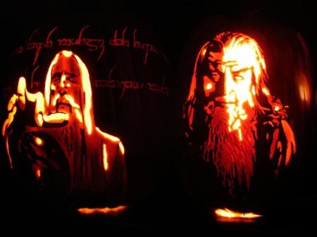 Istari/Sauron and Gandalf